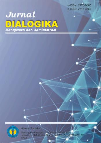Jurnal Dialogika Manajemen dan Administrasi